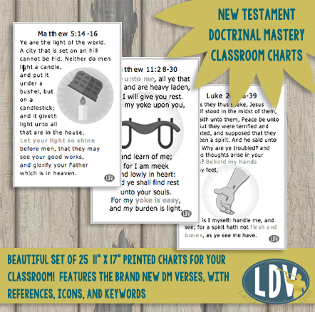 New Testament Doctrinal Mastery Classroom Charts